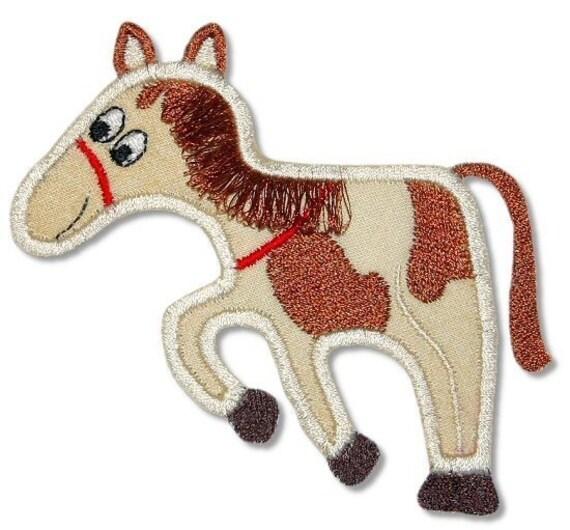 Items similar to applique fringe horse machine