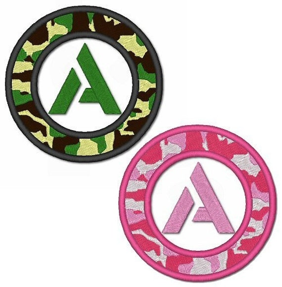 Items Similar To CAMO Font Set Green Pink CAMOUFLAGE 4x4
