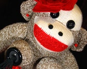 Design Your Own Custom Burlesque Monkey - Pick Your Colors