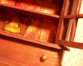 Miniature Antique Cabinet of Mysteries