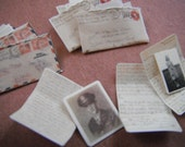 Miniature WWII Love Letters