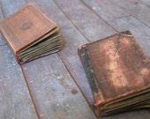 Miniature Dusty Brown Books