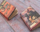 Miniature Scary Story Books