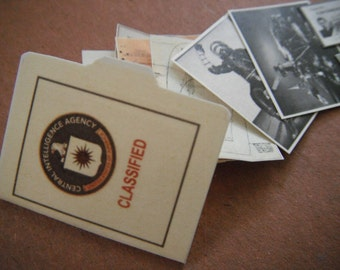Miniature Soviet Espionage CIA File
