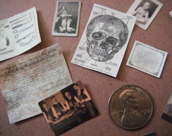Miniature Medical Ephemera