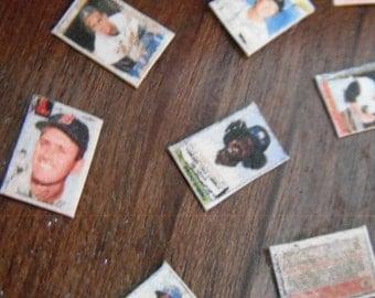 Miniature Baseball Cards