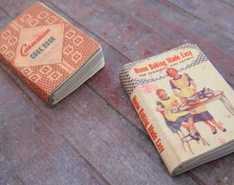 Miniature Cookbooks