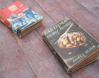 Miniature Science Fiction Books