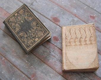 Miniature Antique Books