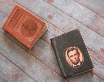 Miniature Books --- Lincoln History