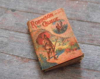 Miniature Robinson Crusoe