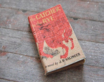Miniature Book --- Catcher in the Rye