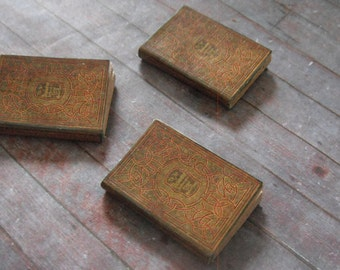 Miniature Art Nouveau Books