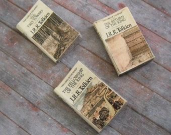 Miniature Books --- Lord of the Rings
