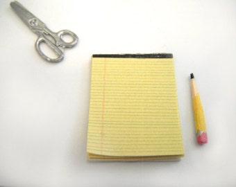 Miniature Legal Notepad