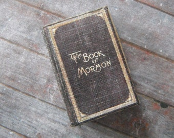 Miniature Book of Mormon
