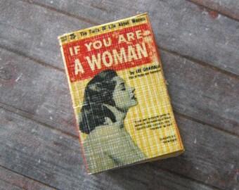 Miniature Vintage Women's Book