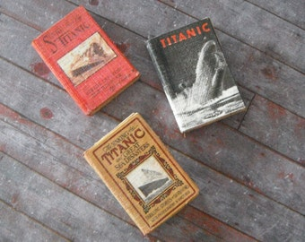 Miniature Titanic Book Set