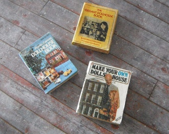 Miniature Dollhouse Book Set