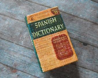 Miniature Spanish Dictionary