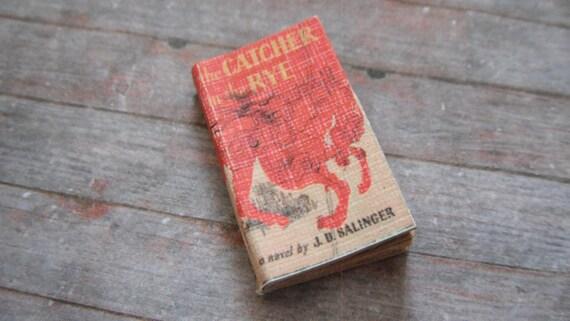 Miniature Book --- Catcher in the Rye
