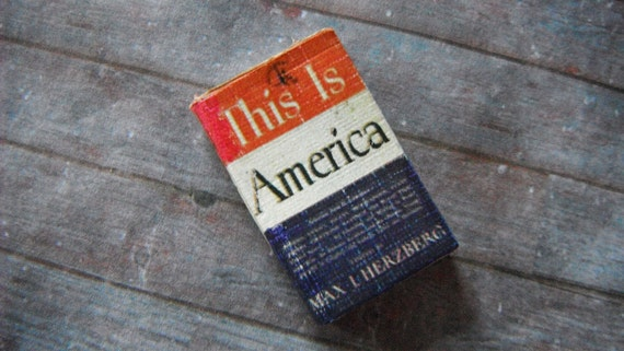 Miniature Book --- This is America
