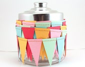 Summer Splash Paper Garland - Bunting, penant Flags, birthday decoration, baby showers