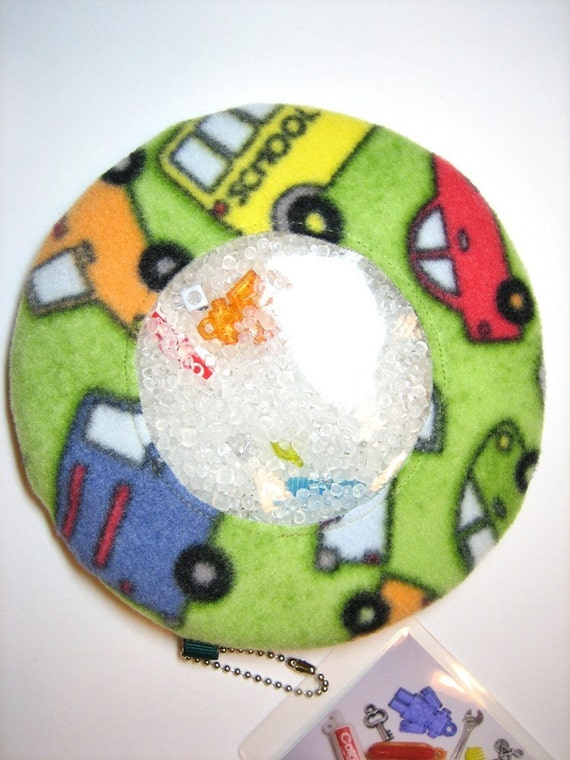 CLEARANCE SALE -- Cars and Trucks I Spy Bag