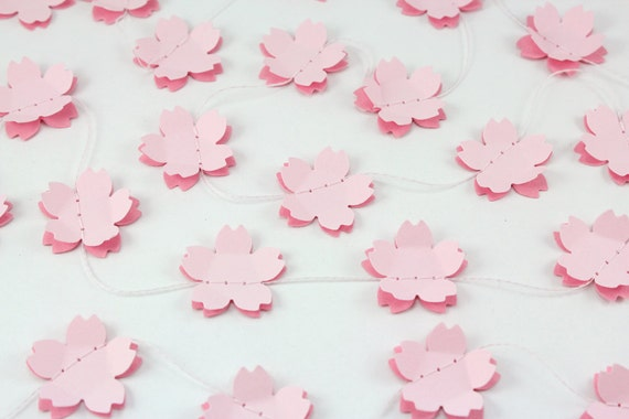 Double Cherry Blossom Paper