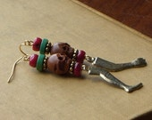 Arm and Leg Milagro earrings