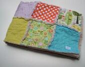 THE LAURELHURST - Rag quilt baby blanket