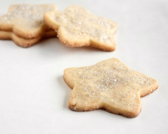 Silver Star Vanilla Bean Sugar Cookies - 3 dozen