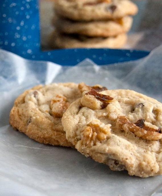 Walnut Chocolate Chip Cookies - 2 dozen homemade cookies