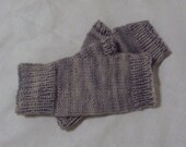 Simply Soft fingerless mitts