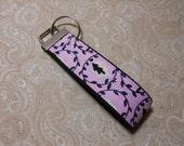 Pink Candy Dreams Fabric Key Fob
