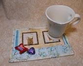 "Coffee Cups ""Mug Rug"""