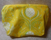 Large Sunshine Blooms of Yellow Cosmetic Pouch