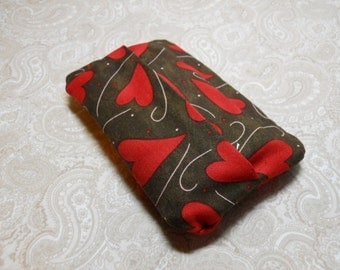Chocolate and Hearts Purse Tissue Cover
