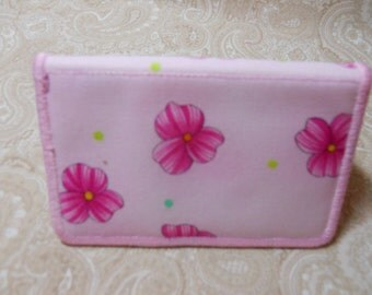 Pink Posey's Business Card Case
