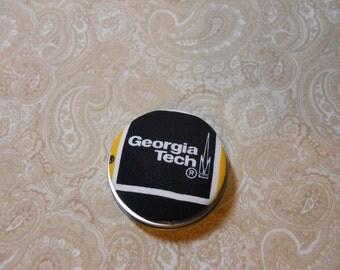 Georgia Tech Tooth Fairy Box, Trinket Box, Pill Box