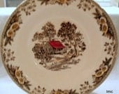 ROYAL CHINA - Fair Oaks Pattern - 9 Inch Serving Bowl