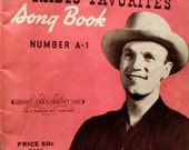 Eddy Arnold Radio Song Favorites 1946 Song Book - Country Music Classics