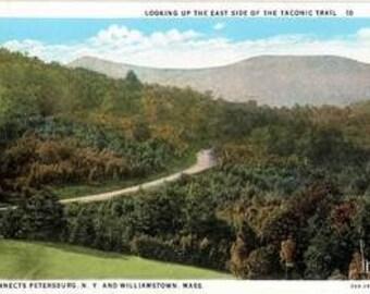 TACONIC TRAIL (N.Y. - Mass) 1930s Postcards Views 7 Thru 12