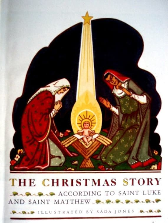 1947 - Christmas An American Annual of Christmas Literature and Art - HC 1st Edition VG