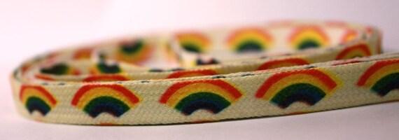 Vintage rainbow shoe laces