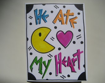 1 handmade love card