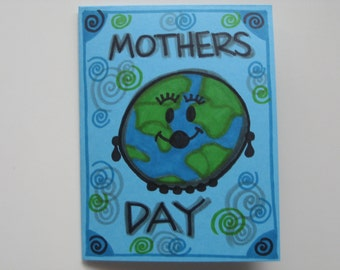 1 handmade earth day card