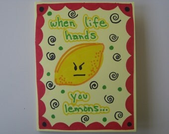 1 handmade cheer card
