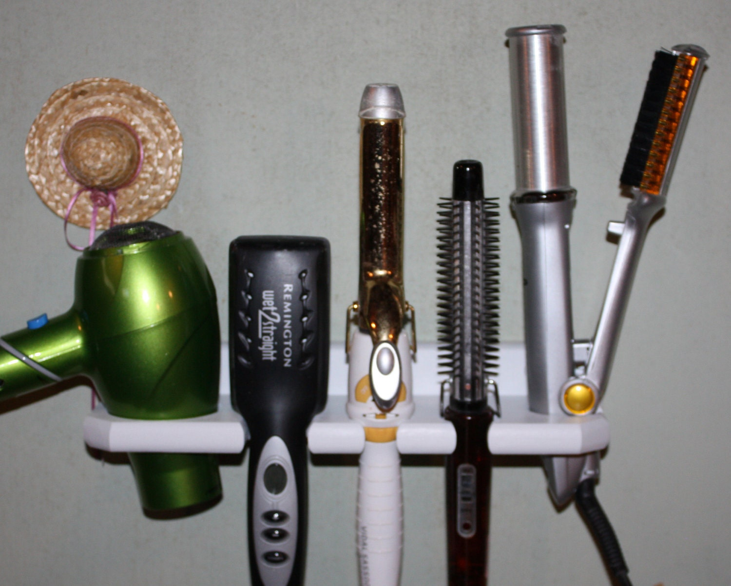 Wonderful Hair Dryer Curling Iron Organizer Part - 6: ?zoom