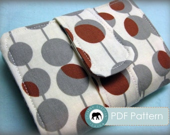 Lila Wallet Clutch PDF Sewing Pattern (Instant Download)